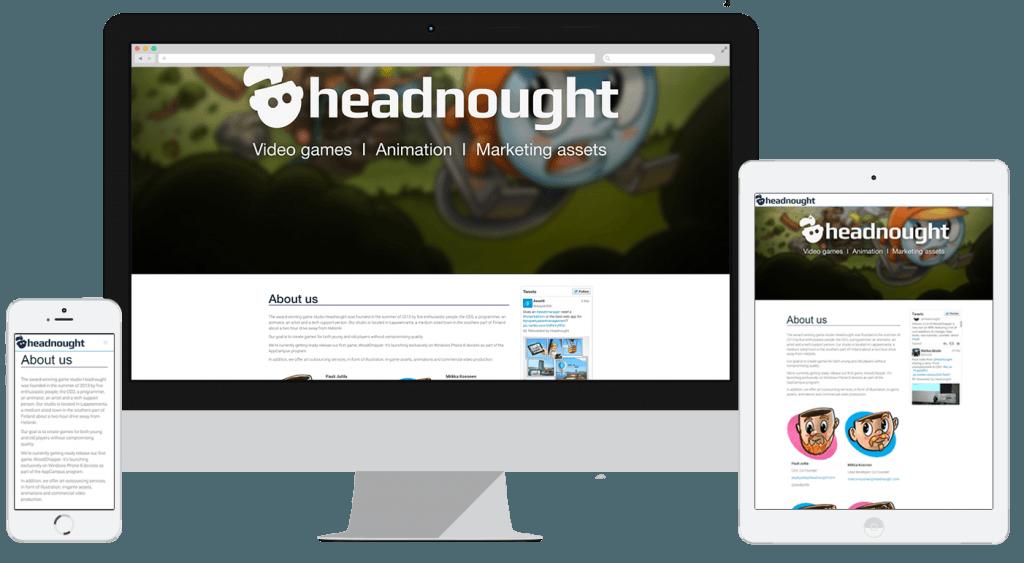 headnought-verkkosivut